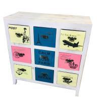 Picture of Antique Wooden Cabinet, Multicolor,  X12-D-A