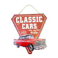 Picture of Ling Wei Vintage Retro Tin Metal Sign Decor