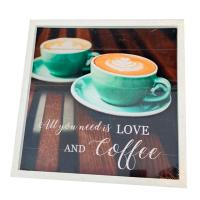 Picture of Home Diy Wooden Vintage Coffe Sign