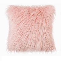 Picture of Ling Wei Decorative Soft Plush Faux Fur Pillow Cover Case