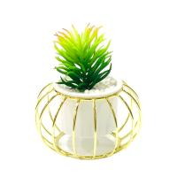 Picture of Ling Wei Nordic Ceramic Marble Flower Vase, White