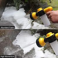 Picture of Foam Sprayer Garden Water Hose Foam Nozzle Soap Dispenser Gun, Yellow