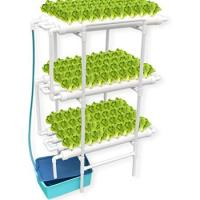 Picture of Hydroponics Nft System with 108 Holes Kits