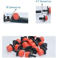 """Picture of S-Mechanic 100Pcs 1/4"""" 360 Degree Adjustable Irrigation Drippers"""