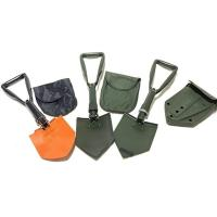 Picture of Hylan Tri-Fold Folding Shovel for Camping and Hiking, Orange