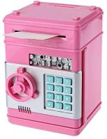 Picture of Kids Mini Electronic Money Bank Coin Cash Saving Box,Pink
