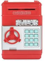 Picture of Piggy Bank Safety Electronic Password Chewing Machine for Children Red