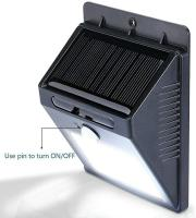 Picture of 2 X 16 LED Solar Powered Motion Sensor Wall Lights