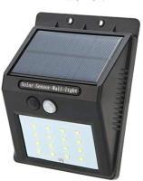 Picture of Lamp Solar Power Wall Light Pir Human Body Motion Sensor