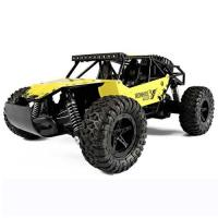 Picture of 2.4 GHz RC High Speed Die Cast Metal Car, Yellow & Black