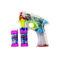 Picture of Bubble Gun Shooting with Music and Light Toy for Kids, Multi Colour