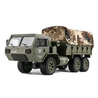 Picture of 2.4 GHz RC Climbing 6 Wheel Drive US Military Truck, Olive Green