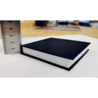 Picture of 2 Pieces Black Hard Covered Memo Pad, Sticky Note Pad