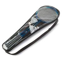 Picture of Badminton Set Including 2 Shuttlecocks And 2 Badminton Rackets.