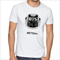 Picture of Bts White Round Neck T-Shirt For Unisex