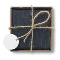 Picture of Coasters Made Of Slate With Eva Bottom Set Of 4