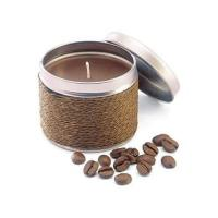 Picture of Coffee Scented Candle In Decorative Tin Box, Pack Of 2 Pieces