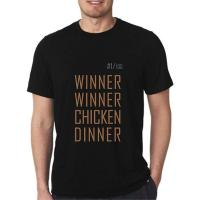 Picture of Giftex Pubg Winner Winner Chicken Dinner Black Unisex Tshirt