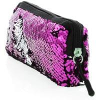 Picture of Make Up Bag, Metallic Fuchsia