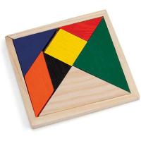 Picture of Small Wooden Tangram Puzzle