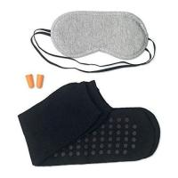 Picture of Travel Set Including Eye Mask, Socks, And Earplugs