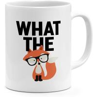 Picture of What The Fox Nerdy Coffee Mug 325ml