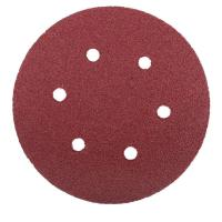 Picture of Velcro Hook Alox Disc with Holes, 120 Grit, 150 mm