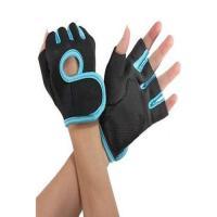 Picture of Weightlifting Half Finger Sport Gloves, Black