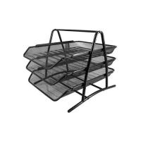 Picture of 3-Tier Documents Tray, Black