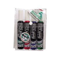 Picture of Pentel White Board Marker Set, Multicolour - Set of 4