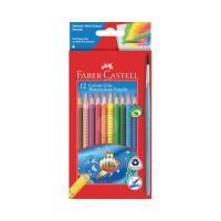 Picture of Colour Grip Watercolour Pencils With Brush, Multicolour - Set Of 12