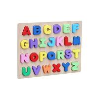Picture of Wooden Capital Alphabets Learning Educational Tray Toy