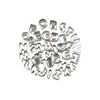 Picture of Stainless Steel 20cm Alphabet Shaped Cookie Cutter, Silver - Set of 26