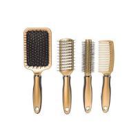 Picture of Salon Styler Hair Brush Set, Gold - Set Of 4