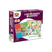 Picture of Ludo And Snakes & Ladders 2 In 1 Board Game