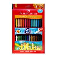 Picture of Grip Erasable Crayon Set, 24 pcs, Multi Colour
