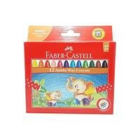Picture of Jumbo Wax Crayons, Multicolour - Set of 12