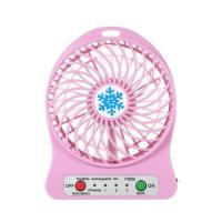 Picture of 3 Speed Mini Portable LED USB Fan, Pink