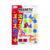 Picture of Magnetic Fancy Letters & Number Learning Game Set