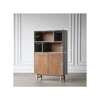 Picture of Neo Front Solid Wood Storage Cabinet, Brown