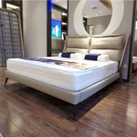 Picture of Neo Front Solid Wooden King Size Bed, White