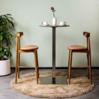 Picture of Neo Front Wooden Bar Stool, Brown