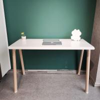 Picture of Neo Front Single Office Table, 1.2 m, White