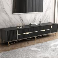 Picture of Neo Front TV Stand with Storage Cabinets, Black