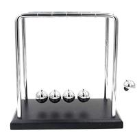 Picture of Newton's Cradle Balancing Ball, Wood Base, 18 X 12 X 18 Cm