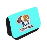 Picture of You Are My Friend Printing Travel Case Cosmetic Makeup Bag
