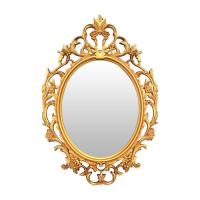 Picture of Lingwei European Style Wall Mounted Mirror Gold-M