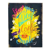 Picture of Ling Wei Wall Hanging Coffee Wooden Sign