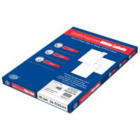 Picture of FIS A4 Multipurpose Label Set Of 100 Sheets, White, 25.4 x 48.5mm, Pack of 14