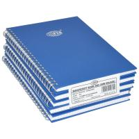Picture of FIS Manuscript Book With Spiral Binding A5 2Q 5mm, Pack of 80